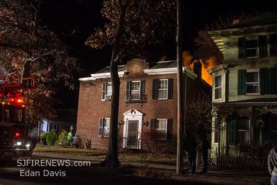 11/22/2014, 2 Alarm Dwelling, Millville, Cumberland County NJ, 116 E Mulberry St.
