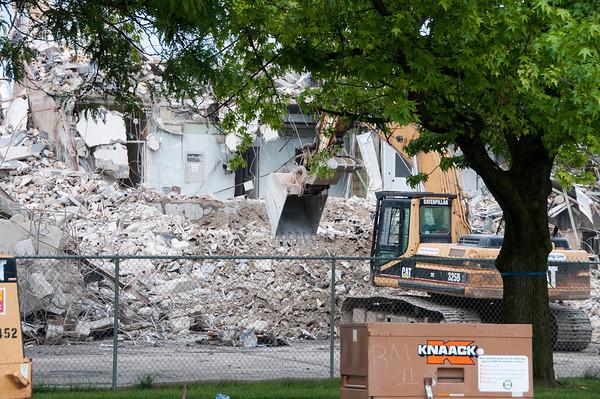 Old Department of Health Destruction