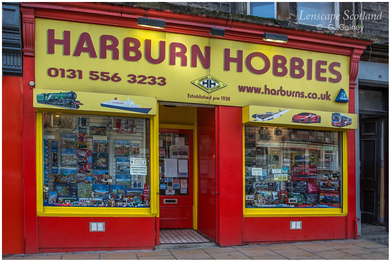 Harburn Hobbies, Elm Row (1)