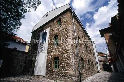 BOSNIA, Sarajevo. Sephardic Synagogue and Museum. (2004)