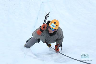 July 26 Ice Climbing with Brett and Kelsey (Exposure Alaska)