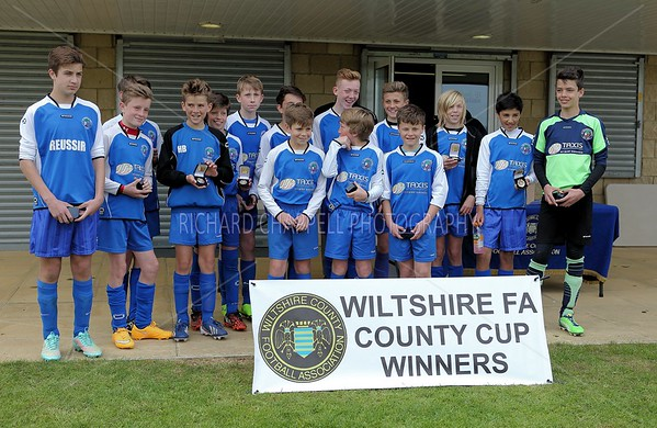 GREENMEADOW FC V CHIPPENHAM  YOUTH U13 CUP FINALS 26th April 2015