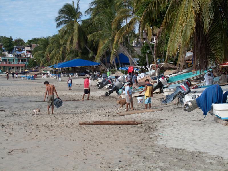 Escondido Beach Scene