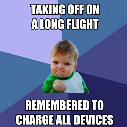 long flight charge devices