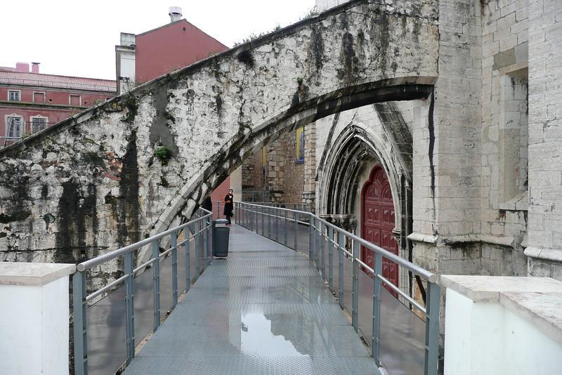 Igresia do Carmo. Bairro Alto, Lisbon