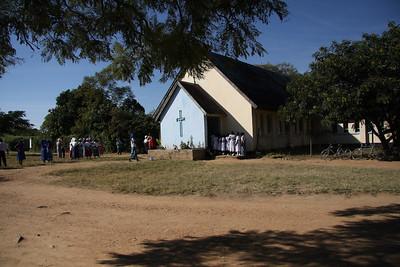 Sunday at church