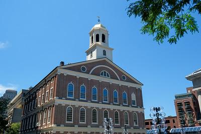 Boston Quincy Market 2014