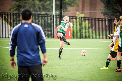 August 29, 2015 - U14 Boys vs Girls Friendly