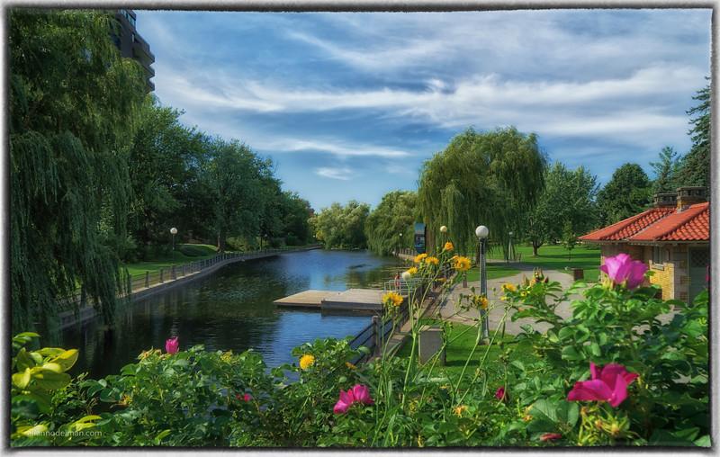 Paterson Creek Inlet, Rideau Canal Ottawa
