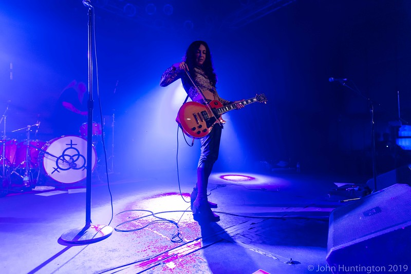 Lez Zeppelin at the Highline Ballroom, March 30, 2015