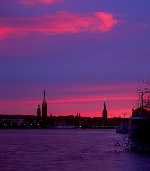 Sunrise, Stockholm, Sweden, 1990