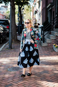 Street Style with the skirt