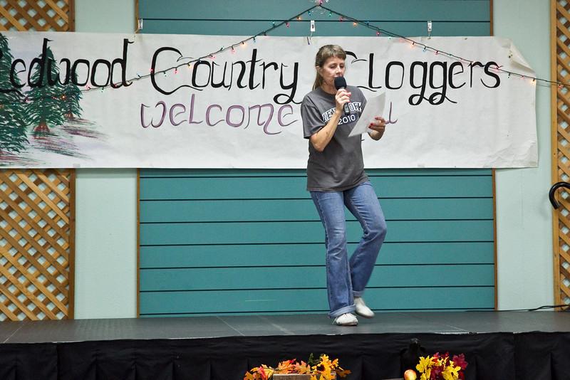 Michelle John-Smith teaching at Late Harvest Stomp