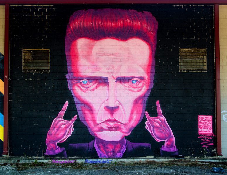 What is this?  Christopher Walken!