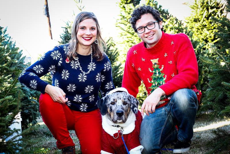 Valerie, Alec & Scarlett Christmas 2015