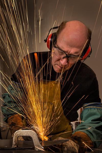 Irwin Labin, Metal Sculptor