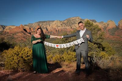 Amanda & David's Sedona Wedding