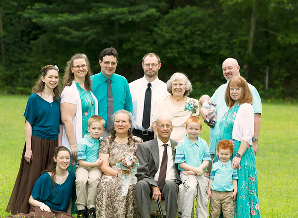 Mr. and Mrs. Cox and Family 2018