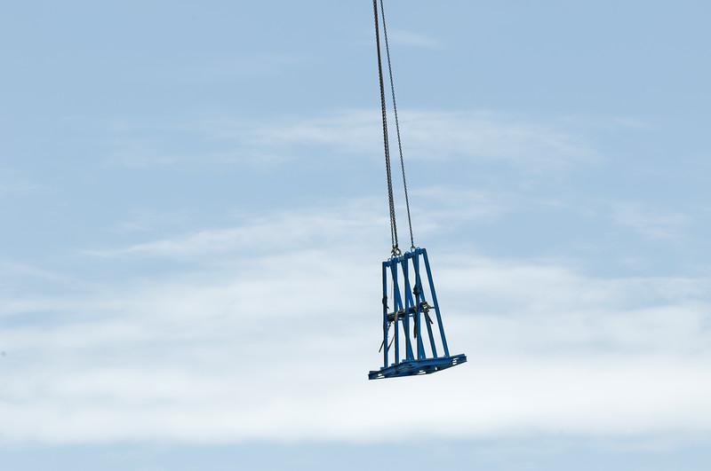 Working construction crane. Update 171. Gosford. January 2019.