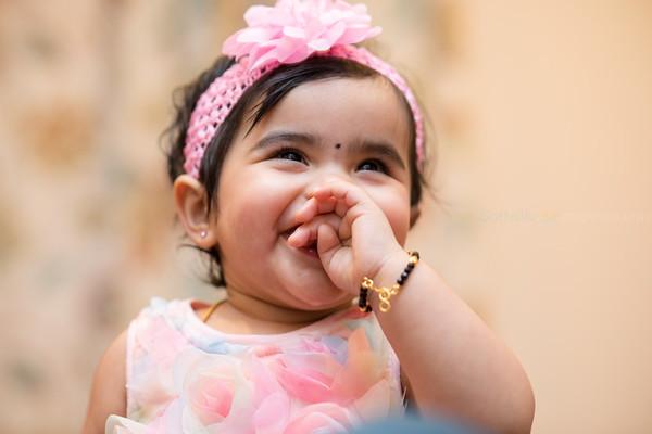 Megha Madhu 1st Birthday