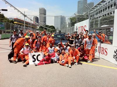 Singapore GP-Final race day (26 Sep 2010)