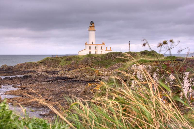 The lighthouse at Turnberry.