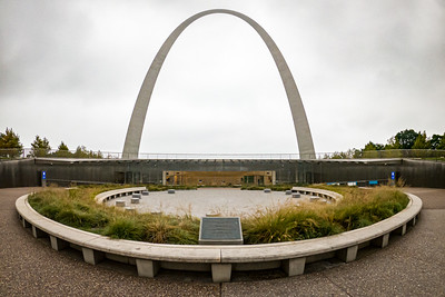 Gateway Arch Plaza and Visitor Center