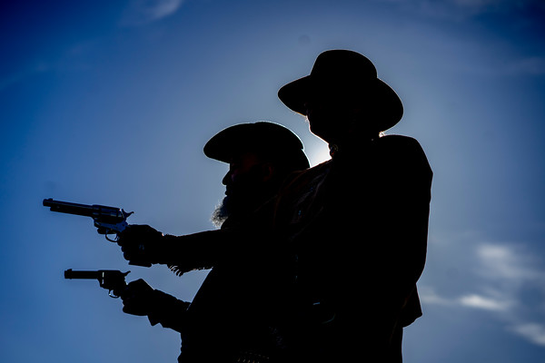 Shoot out at Bradgate Park !