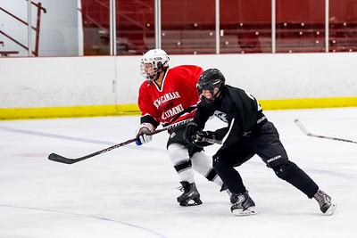 NCHS Hockey Alumni Game 11/27/15
