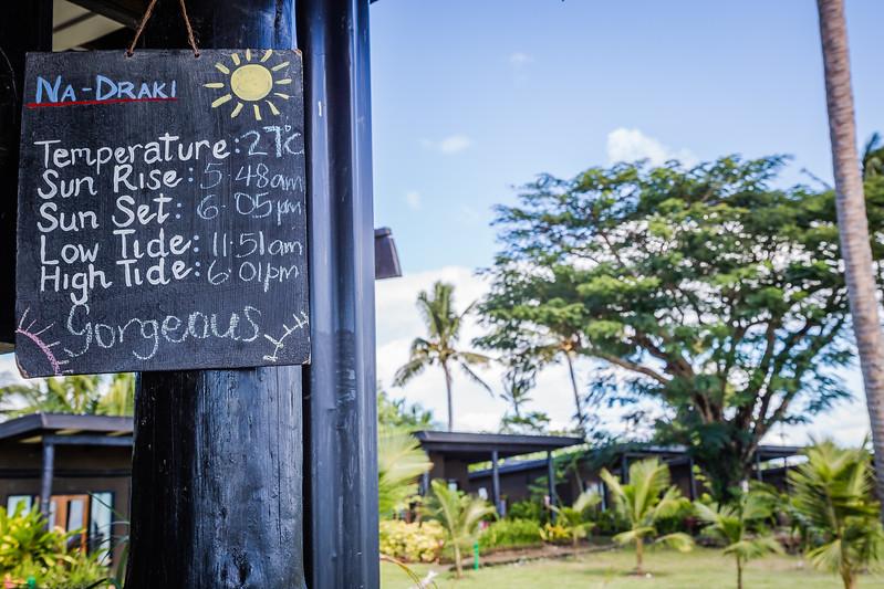 best time to visit Taveuni Fiji