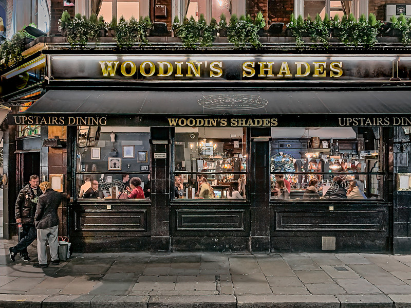 Woodins Shades –Liverpool Street, London