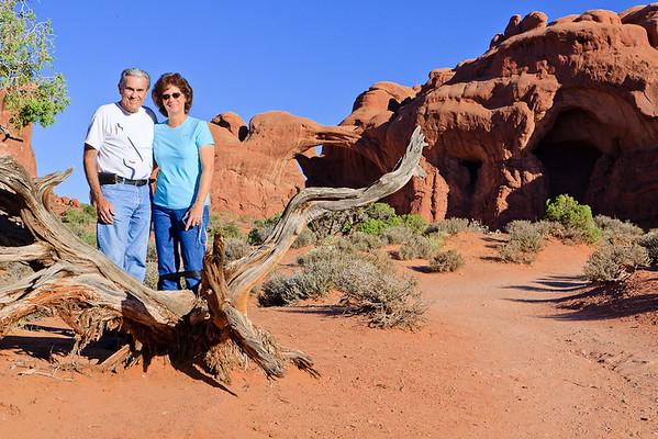 Moab Trip - Family Shots