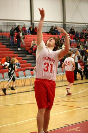 Middle School Boys Basketball 8A - 2008-2009 - 12/8/2008 Newaygo