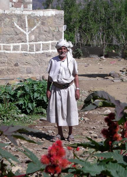 a man in Beit al-Amir