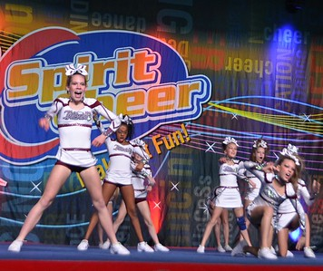 Intensity Elite Cheer competition