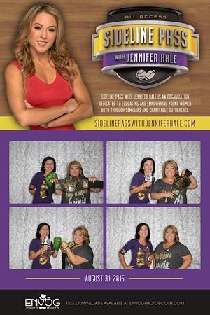Sideline Pass with Jennifer Hale (prints)