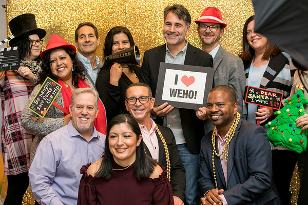 12.14.17 WEHO Holiday Party at the Jeremy Hotel