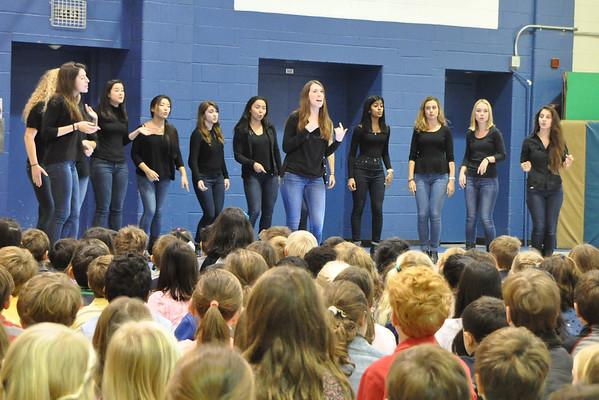 Princeton Tigressions Perform at Norwood