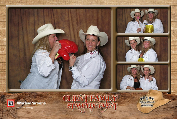 Worley Parsons Client & Family Appreciation Stampede 2012