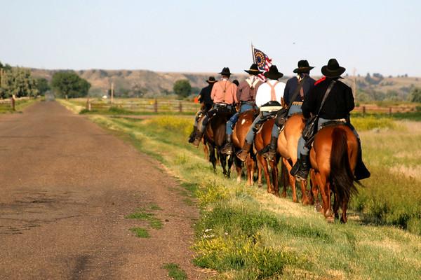 7th Cavalry's Anniversary Ride: 6/06