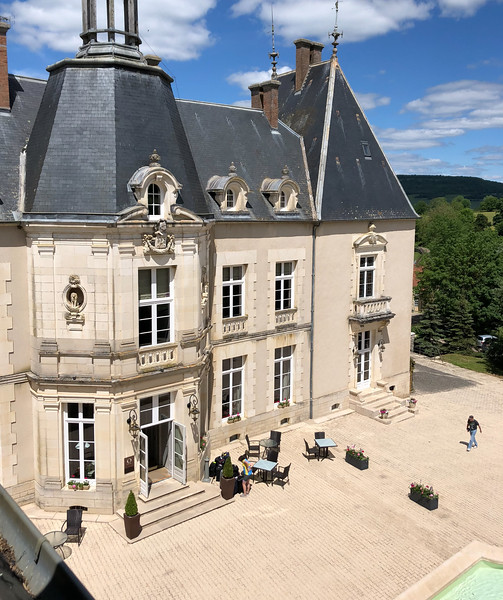 From my room at Château Sainte Sabine