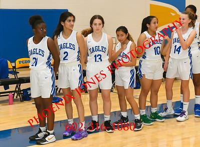 1-21-2020 - PCDS v Morenci - Girls Basketball