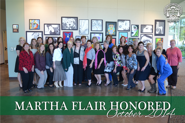 Martha Flair Honored
