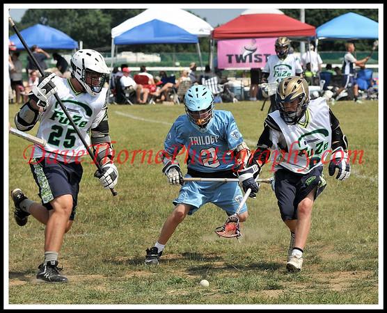 Lacrosse - Trilogy Summer Sizzle  JS U-15 Black  July, 2009