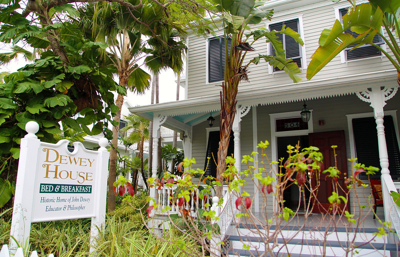 The one-time home of philosopher John Dewey