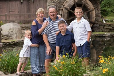 LaPlante Family Portrait Photography- New England Photo Studio- Stanley Park Westfield, MA Candid Studio Photographer
