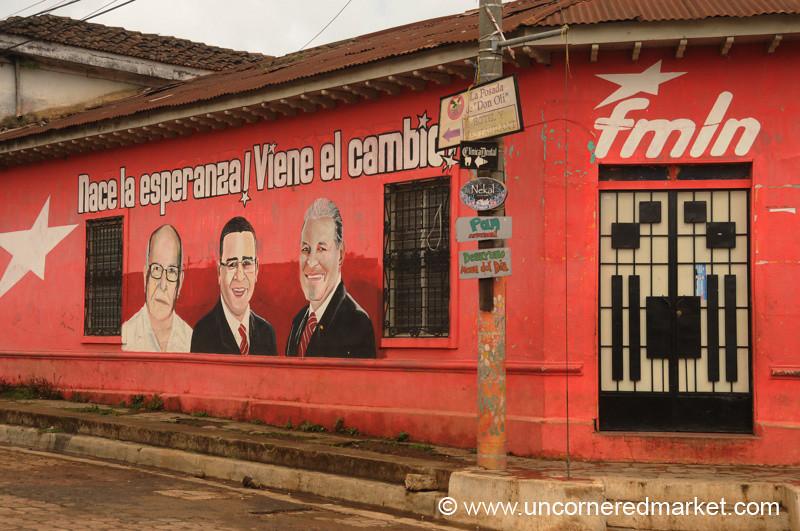 Political Murals - Ataco, El Salvador