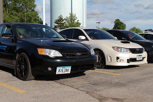 Subaru Owners Club 5 June 2013