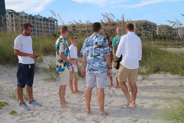Stacia and Scott's Cocoa Beach Wedding!