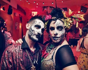 """""""Vida y Muerte"""" Halloween Party at Casa Bocado I"""
